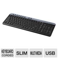 ! G54-40859 Multimedia Keyboard - USB 104 Keys Black OEM PowerUp! G54-40859 Multimedia Keyboard - USB 104 Keys Black OEM