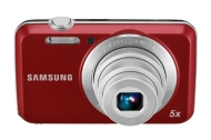 Samsung EC-ES80 Digital Camera with 12 MP and 5x Optical Zoom (Red)