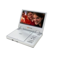 "Optros 8"" Portable DVD Player - Silver (OP-6080)"