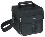 Kodak Gear Crinkle Nylon Micro Video/Photo Bag (Black)