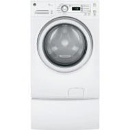 GE - 7.0 Cu. Ft. 7-Cycle Electric Dryer - White-on-White GFDN120EDWW