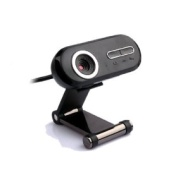 Kinobo - B8 Webcam - Built in USB Microphone - Video Record Button - Status Light - HQ Image. For Skype/Video Conferencing