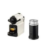 Nespresso Inissia XN101140 Coffee Machine with Milk Frother by Krups - White