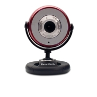 Gear Head Red 1.3MP Webcam for PC