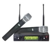 Hisonic HSU482H 48-Channel Dual UHF Wireless Microphone