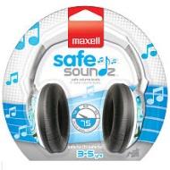 MAXELL 190295 - SSHPB35 Safe Soundz Headphones for Kids (Blue)