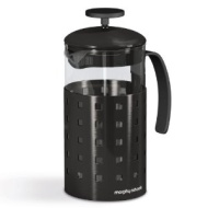 Morphy Richards 46190 Accents 8 Cup Cafetiere Black