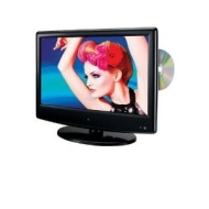 GPX TDE1380B 13.3-Inch LED TV with Built-In DVD Player (Black)