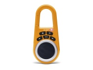 ION Clipster Ultra-Portable Bluetooth Speaker with Built-In Clip (Orange)