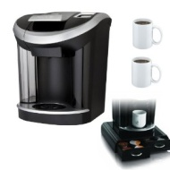 "Keurig Vue V700 Brewing System Machine w/ Mind Reader ""Anchor"" Coffee Pack Drawer for Keurig Vue Packs & Two 11 Oz. Ceramic Coffee Mugs"