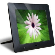 Latest Version - NIX X08D 8 inch Hi-Res Digital Photo Frame with Motion Sensor