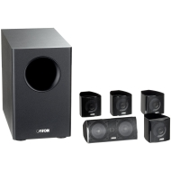 "Canton Movie 85 CX, 5.1, 100 W, 120 - 25000 Hz, 5000 Hz, 8 Ohmio, 25.4 mm (1 "")"