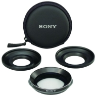 Sony VCLHGE08B Wide-End Conversion Lens for 37mm/30mm Camcorders