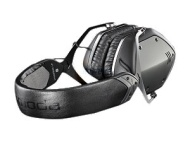 Crossfade LP Over-Ear Noise-Isolating Metal Headphones - Gunmetal Black