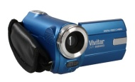 Ultra Compact Camcorder Vivitar DVR508NHD 5 Megapixel Digital Video Camcorder / Digital Camera - Blue
