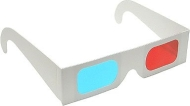 3D STEREO RED & CYAN ANAGLYPH 3D GLASSES -FAMILY PACK 0F 4 FOR VIEWING 3D DVD, TV, BLU RAY AND IMAGES