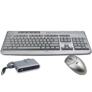 HP 5187URF2+ Wireless Keyboard & Optical Mouse (Silver)