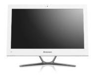 Lenovo C340 20 inch All-in-One Desktop PC - White (Intel Celeron G1610M 2.6GHz Processor, 4GB RAM, 500GB HDD, DVDRW, Webcam, Integrated Graphics, Wind