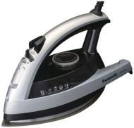 Panasonic NI-E300TR U-Shape Steam Iron, White/Green Finish