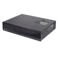 Silverstone Aluminum/steel Micro Atx Media Center/htpc Case Ml03b Black
