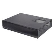 SilverStone Aluminum/Steel Micro ATX Media Center/HTPC Case ML03B (Black)
