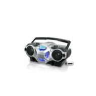 Technical Pro Portable Boost Speaker w MP3/USB/SD/TF Inputs (battery powered) Black & Silver