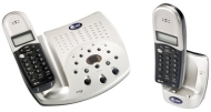 AT&T 2255 2.4 GHz Dual Handset Cordless Phone with Answering System and Caller ID (Champagne)