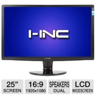 "I-Inc IH253DPB 25"" Class Widescreen LCD HD Monitor"