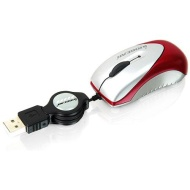 IOGEAR Mini Mouse GME221 - Mouse - optical - 3 button(s) - wired - USB