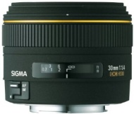 Sigma 30mm f/1.4 EX DC Lens for Minolta and Sony Digital SLR Cameras