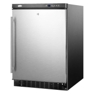 Summit Built-In Outdoor Refrigerator - Stainless Steel