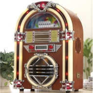 Zennox Juke Box with CD Player MP3 AM / FM Radio LCD Display.