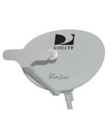 DIRECTV AU9S Slimline Ka / Ku 5 LNB HDTV Satellite Dish