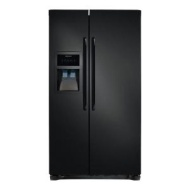 Frigidaire FFHS2622MB Black Energy Star 26 Cubic Foot Side-By-Side Refrigerator