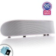 GOgroove SonaWAVE Portable Stereo Speaker System with Rechargeable Battery for Smartphones, MP3 Players, Tablets, Laptops & More
