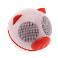 Kitsound Pig Buddy Portable Speaker Compatible with iPod/iPad 2 3/iPhone