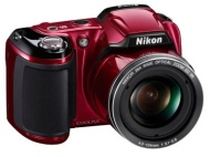 Nikon Coolpix 16MP/26x Zoom Camera  Red
