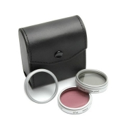 Digital Concepts 67mm Video Filter Kit with UV Protection, Polarizer, & Fluorescent Daylight Filters and Filter Carrying Case