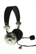 CAD USB Stereo Headphones with Microphone - U2