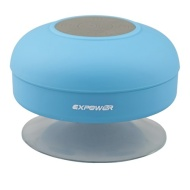 Expower(R) NFC Water Resistant Wireless FM Radio Bluetooth Shower Speaker with Suction Cup and Hands-Free Speakerphone for Iphone6 6Plus and Samsung G