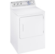 GE: GTDP400EMWS 7.0 cu. ft. capacity DuraDrum electric dryer with Sensor Dry,Long lasting interior