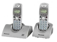 Panasonic KX-TCD447ES - DECT Cordless Phone with Answer Machine - Twin Pack
