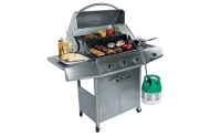 3 Burner Stainless Steel Gas BBQ