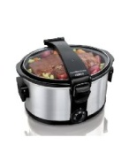 HAMILTON BEACH - SMALL APPLIANCES STAY OR GO 7 QT SLOW COOKER