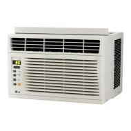 LG - 6,000 BTU Window Air Conditioner - White LW6012ER