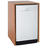 "Avanti Products 18"" Built-In Dishwasher Finish: White"