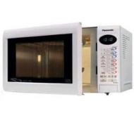 Panasonic NN-A554W 27 litre 1000 watt  Digital Combination Microwave Oven with Quartz Grill, White