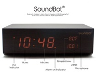 SoundBot® SB1010 8 in 1 Multi-Function Station w/ Bluetooth Connectivity, Stereo Audio Speaker, Built-In Microphone, Alarm Clock, Thermometer, 2.1A US