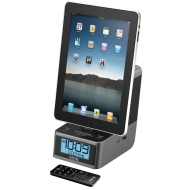 iHome iD37 Dual Alarm Stereo Clock Radio for iPad/iPhone/iPod