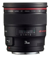 Canon Fixed Focal Length EF 24mm f/1.4L II USM Lens